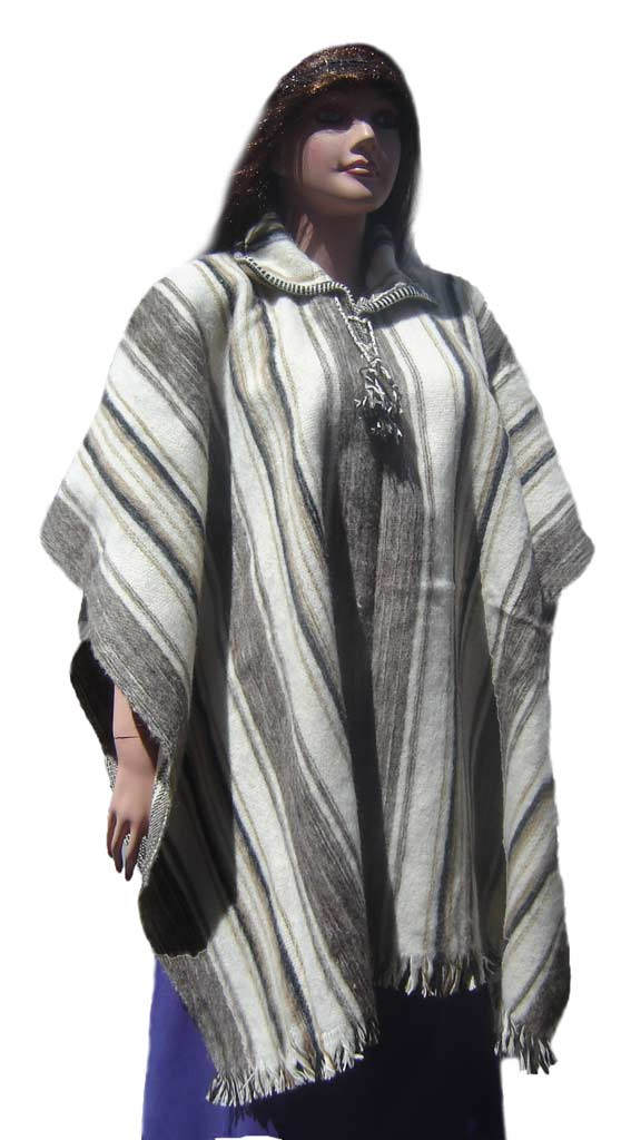 Soft and Warm Alpaca Blend Poncho special for winter season
