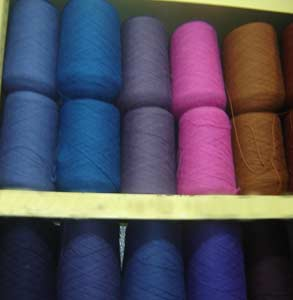 Luxury Alpaca Cones Yarns