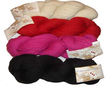 Baby Alpaca Skeins Yarn ready for making your prefer items